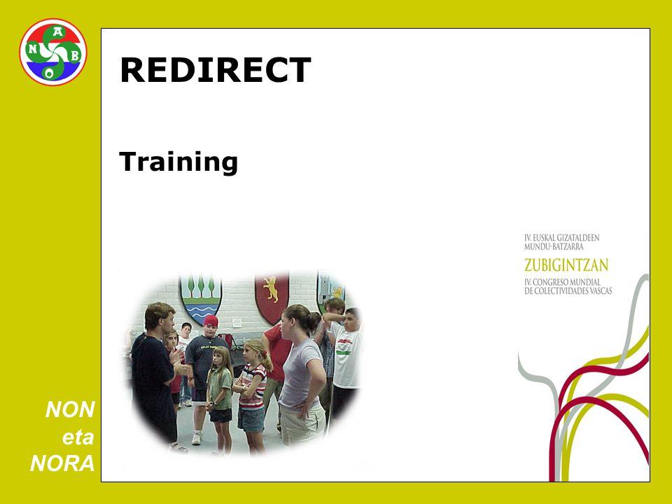 REDIRECT Training NON eta NORA