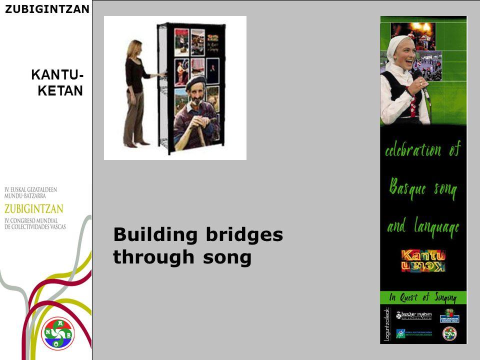 ZUBIGINTZAN Building bridges through song KANTU- KETAN