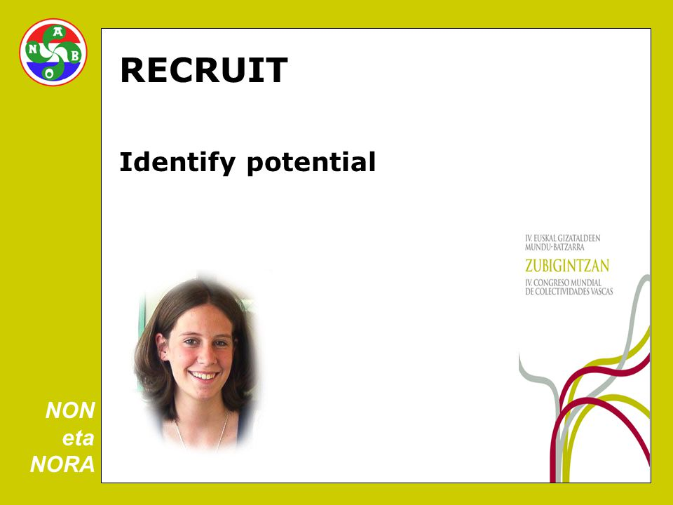RECRUIT Identify potential NON eta NORA
