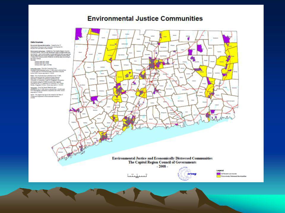 Environmental Justice Communities