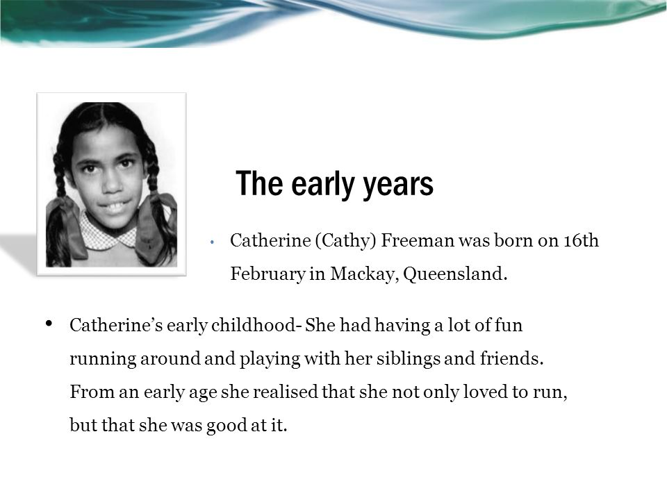Why she is famous? Cathy Freeman was invited to light the Olympic flame at the opening ceremony of the Sydney Olympic Games 2000. She won the gold med