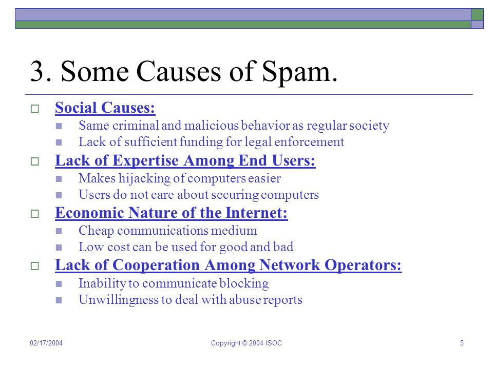 02/17/2004Copyright © 2004 ISOC6 4.ASRG Research Agenda.