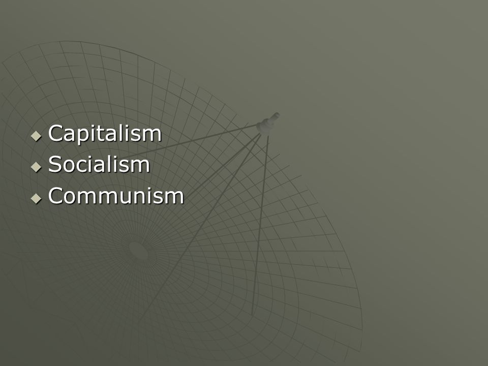 What are the 3 parts of an economic system?