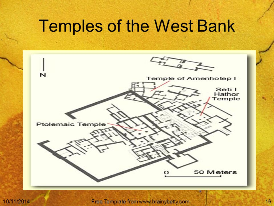 10/11/2014Free Template from www.brainybetty.com16 Temples of the West Bank