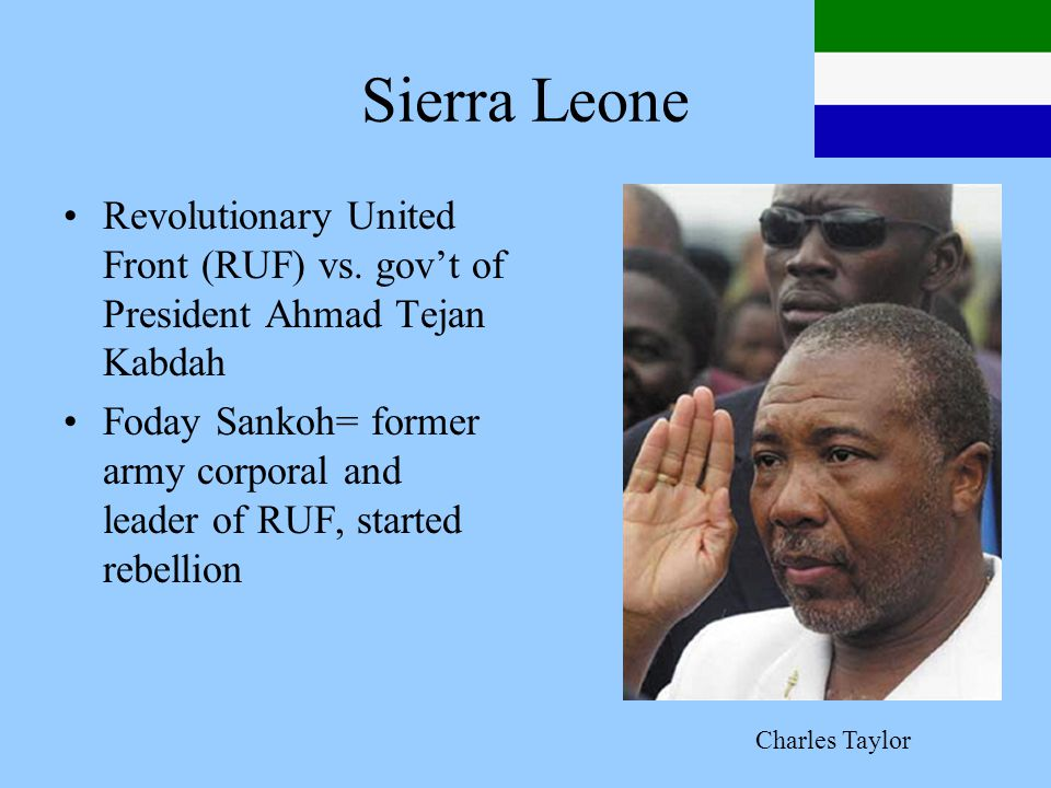 Sierra Leone Revolutionary United Front (RUF) vs.
