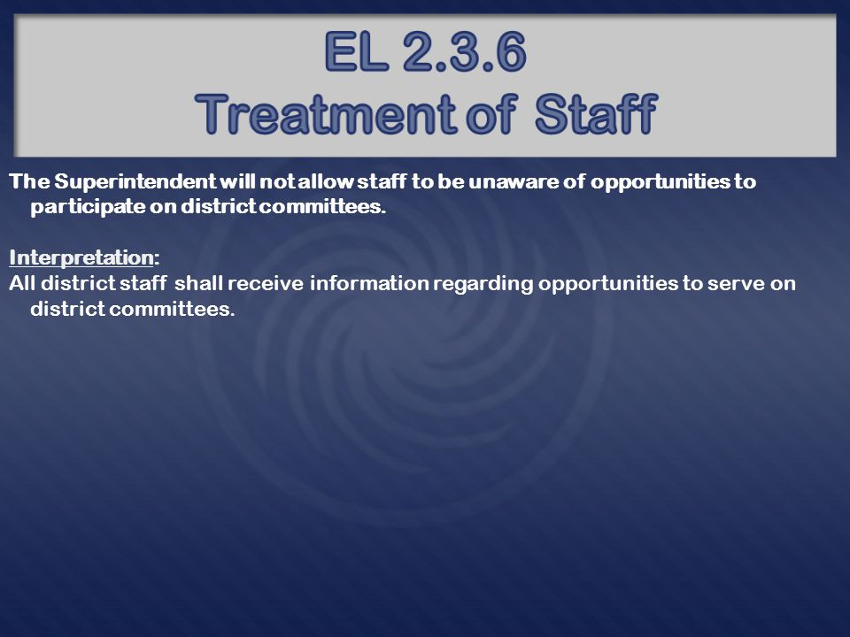 The Superintendent will not allow staff to be unprepared to deal with emergency situations.