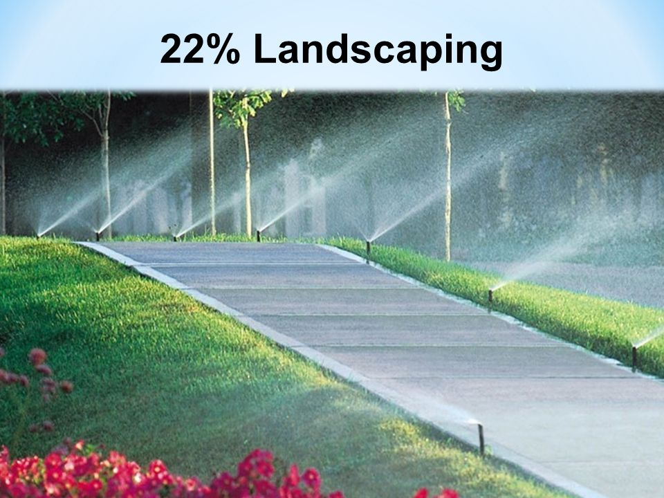 22% Landscaping 6
