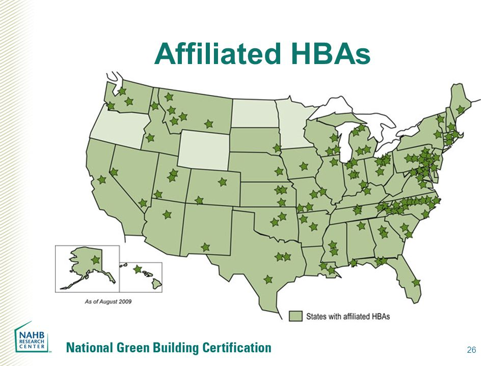 Affiliated HBAs 26