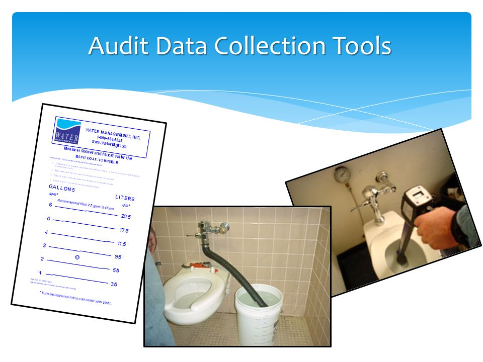 ULTRASONIC FLOMETERS Audit Data Collection Tools