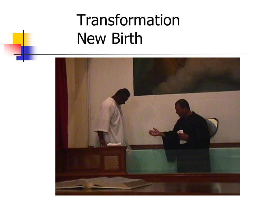 Transformation New Birth