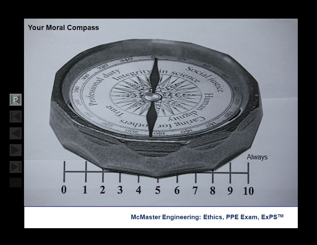 Soar with Science McMaster Engineering: Ethics, PPE Exam, ExPS TM P Your Moral Compass