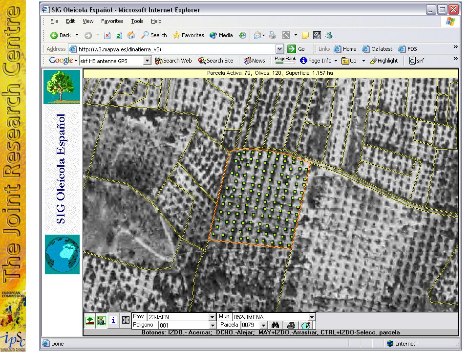 7/11 A database of 1.7m land parcels Database (Storage) The database needs to be built.