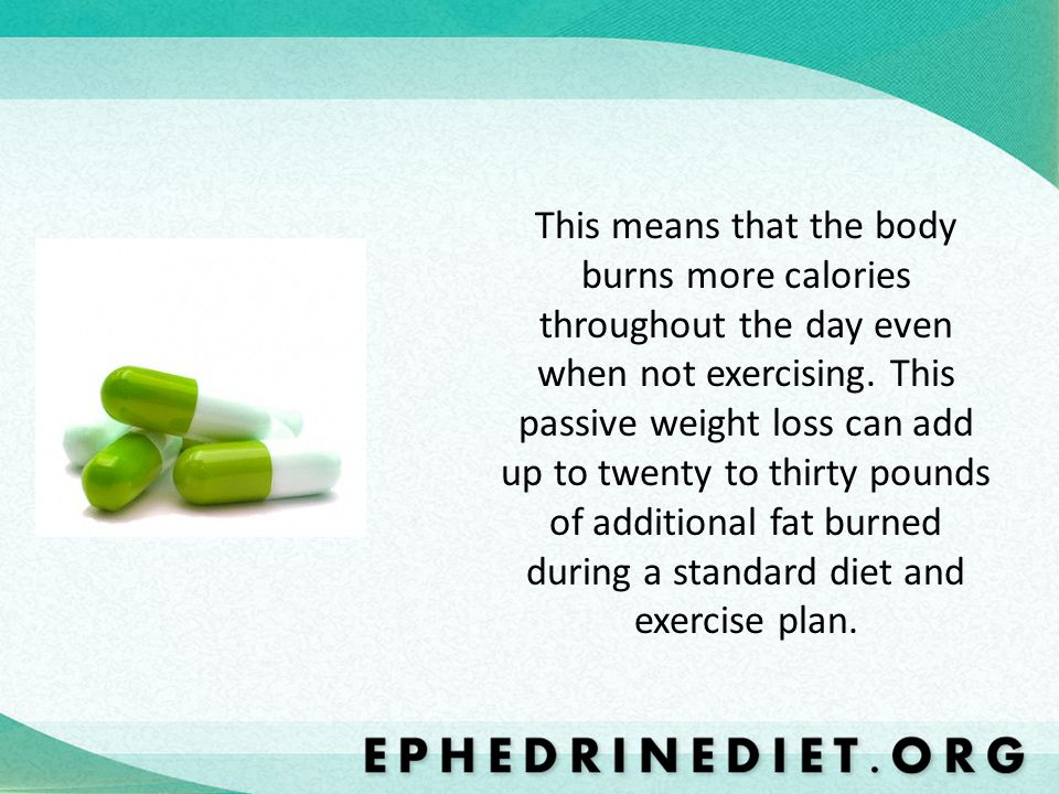 This means that the body burns more calories throughout the day even when not exercising.