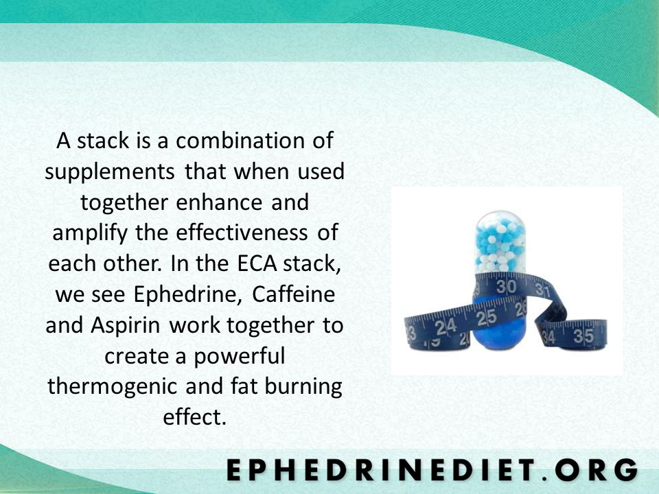 A stack is a combination of supplements that when used together enhance and amplify the effectiveness of each other.