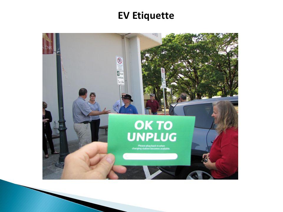EV Etiquette