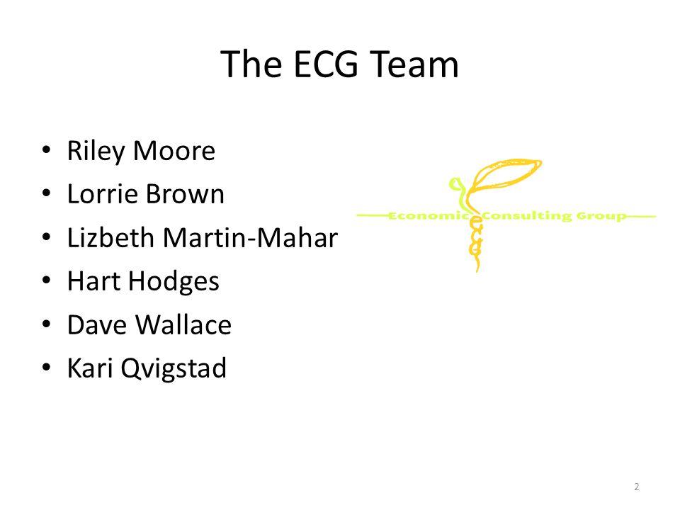 The ECG Team Riley Moore Lorrie Brown Lizbeth Martin-Mahar Hart Hodges Dave Wallace Kari Qvigstad 2