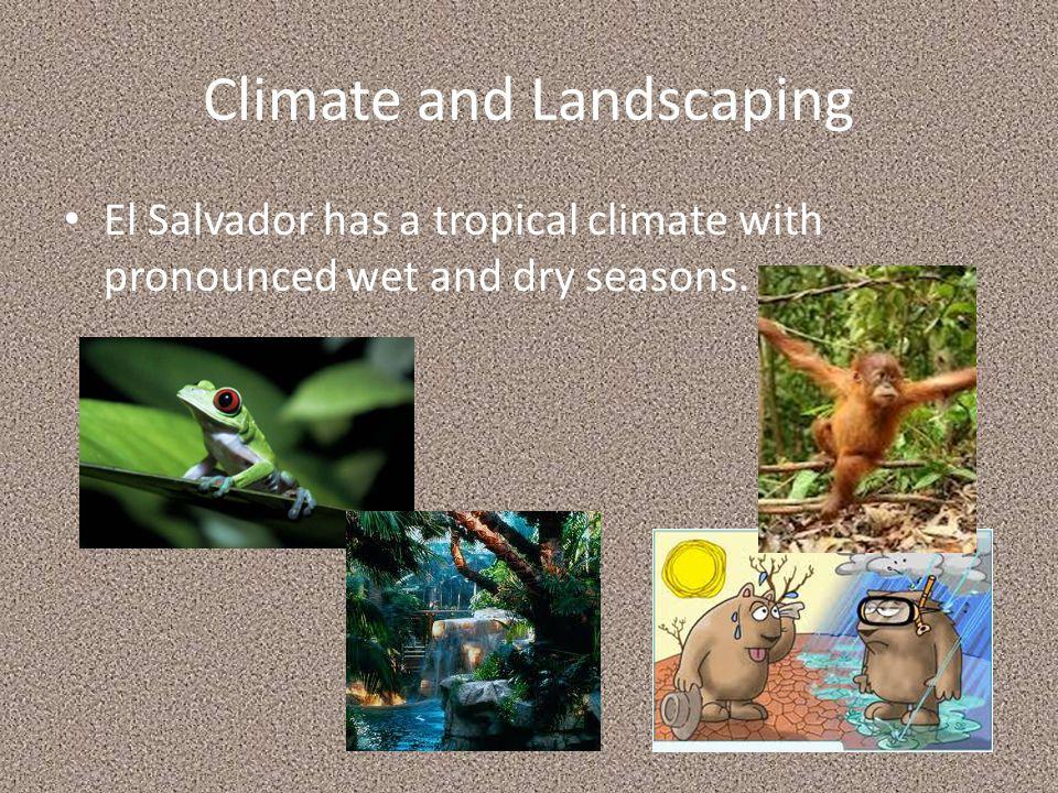 Location The location of El Salvador.