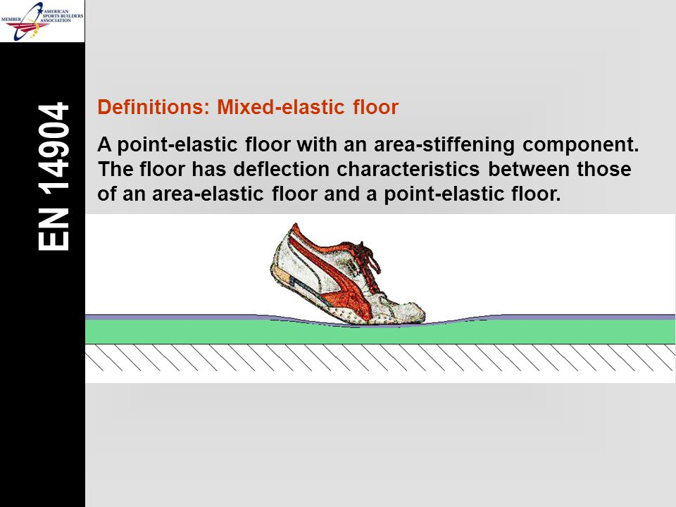 Definitions: Mixed-elastic floor A point-elastic floor with an area-stiffening component.
