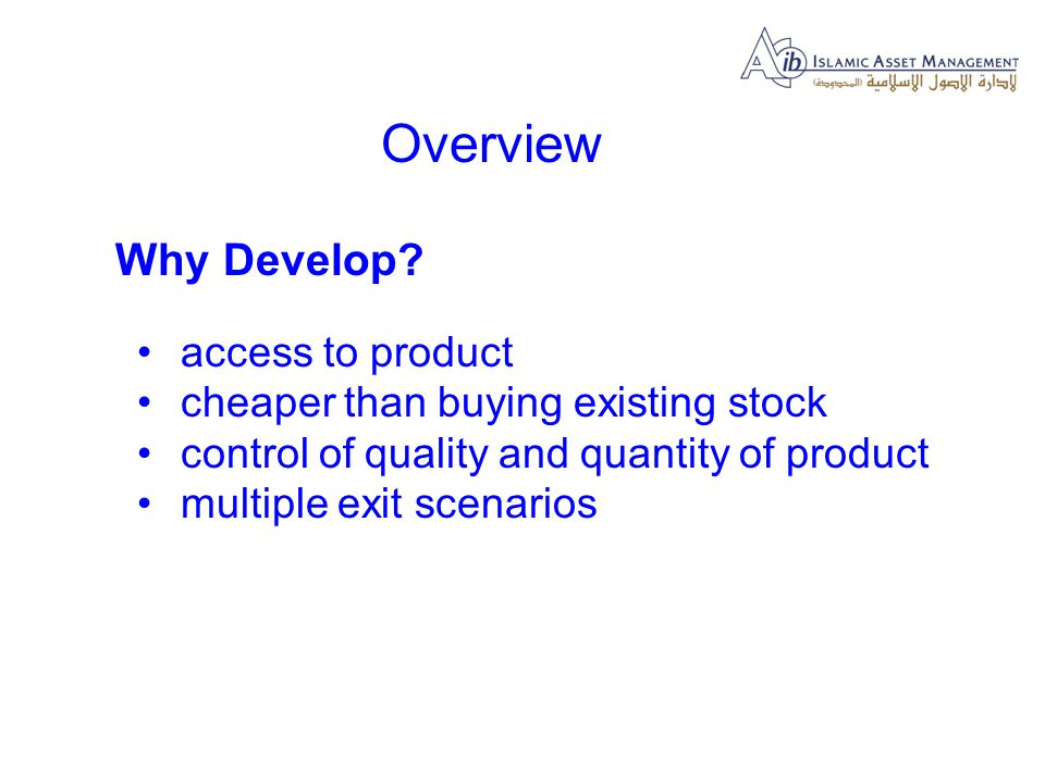 What are the principal development costs.