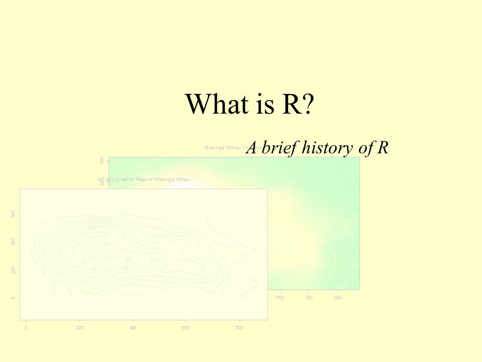 What is R A brief history of R
