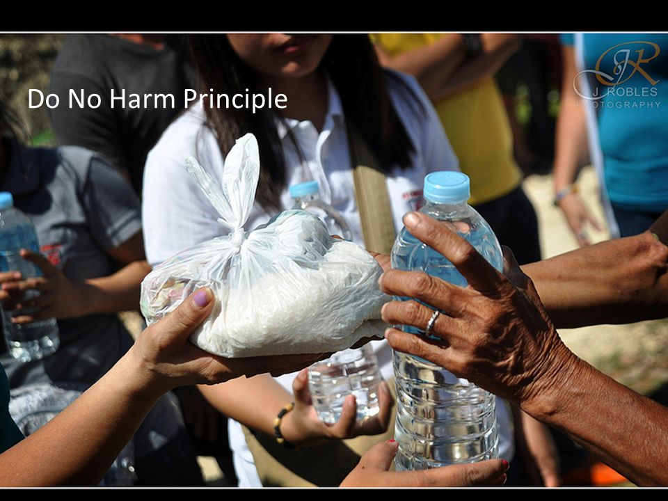 Do No Harm Principle