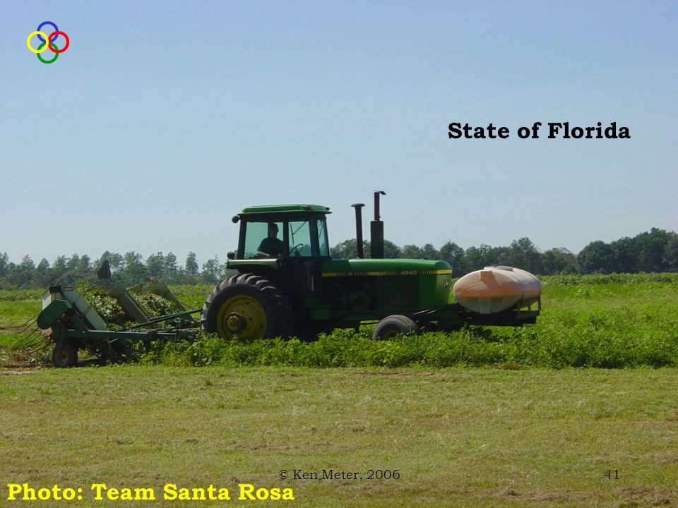 © Ken Meter, 200641 State of Florida Photo: Team Santa Rosa