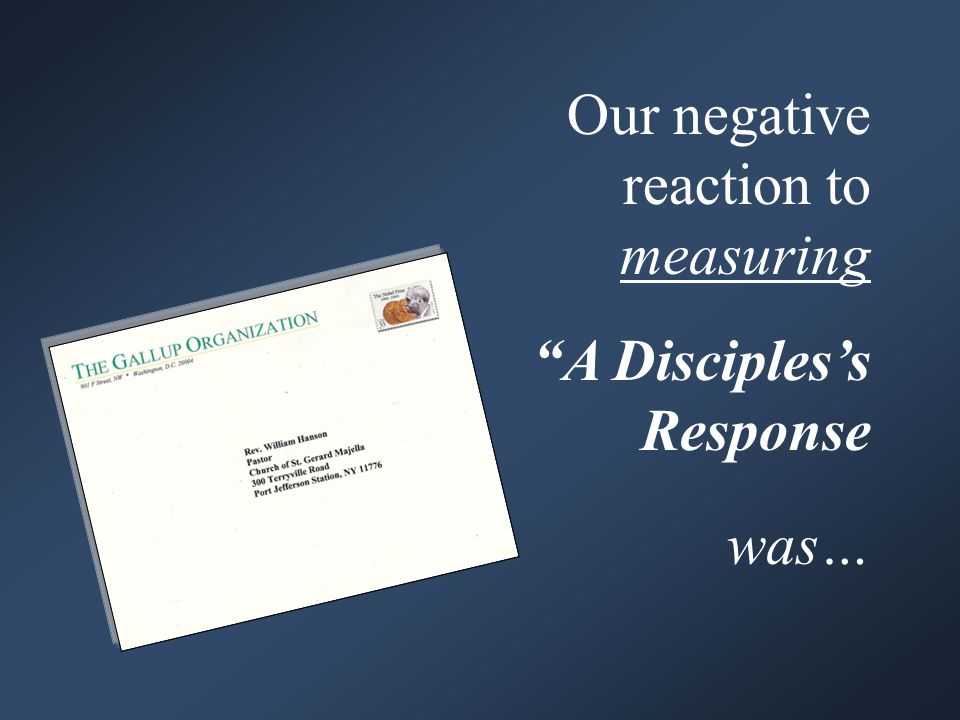 Living our Strengths Disciples respond at St.