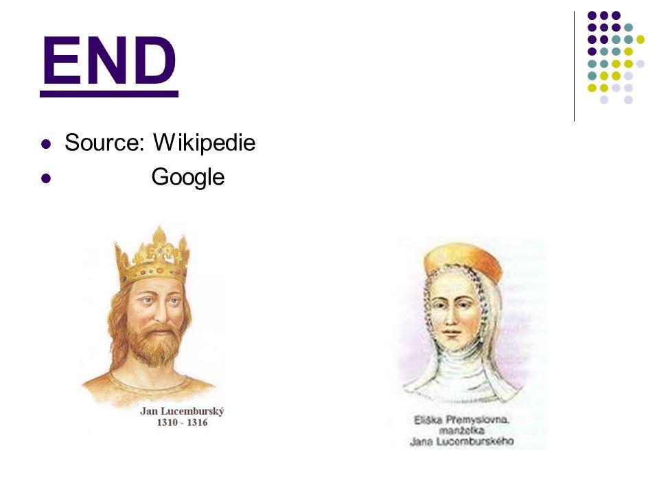 END Source: Wikipedie Google