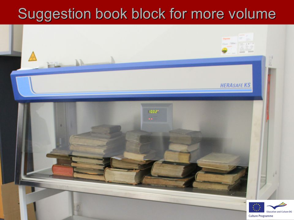 Suggestion book block for more volume !