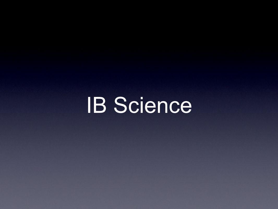 IB Science