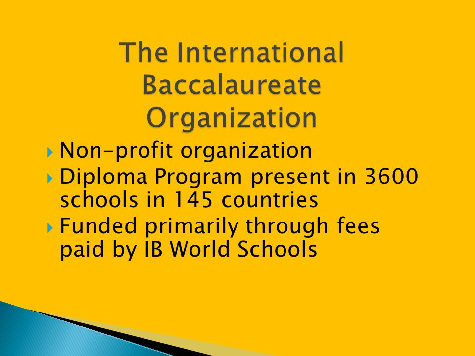  IB Diploma  Currently, all IB exam fees (approximately $804) are paid for by the school district.