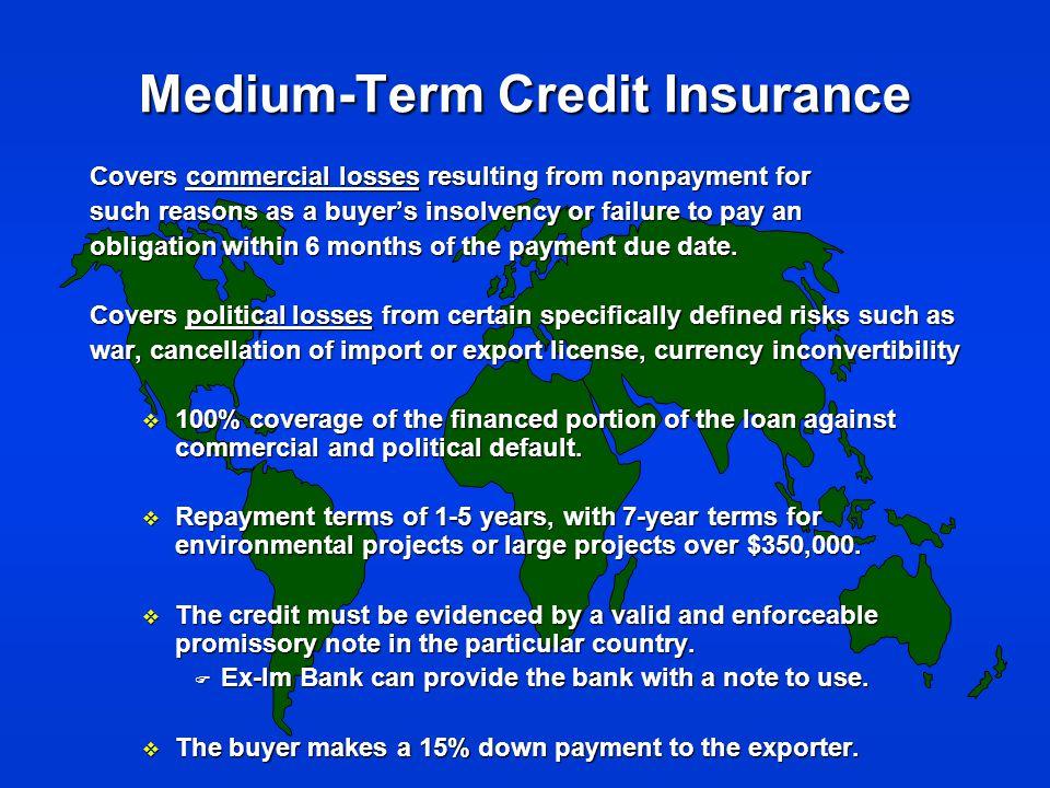 New Initiative: Sub-sovereign Lending u Recognizes emerging market for U.S.