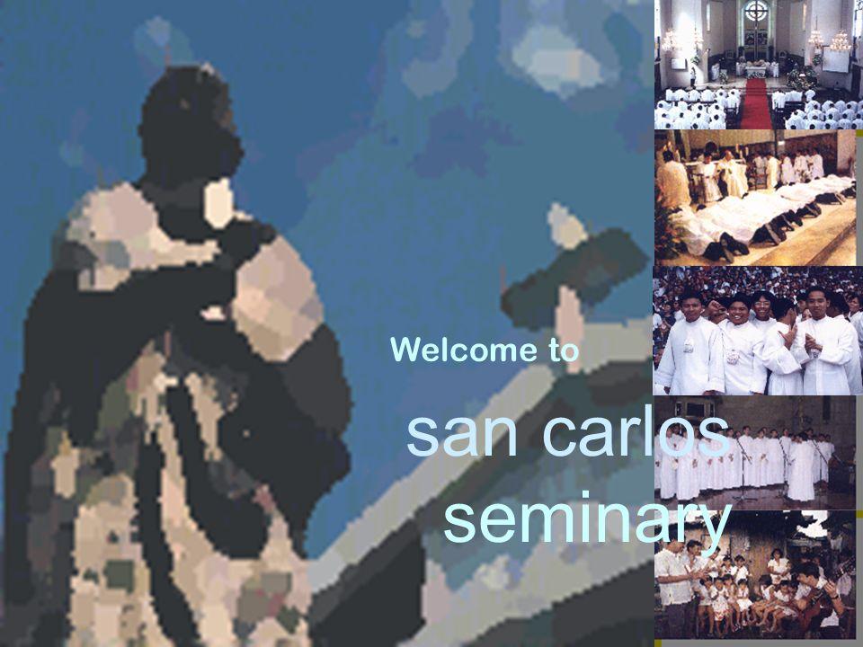san carlos seminary Welcome to