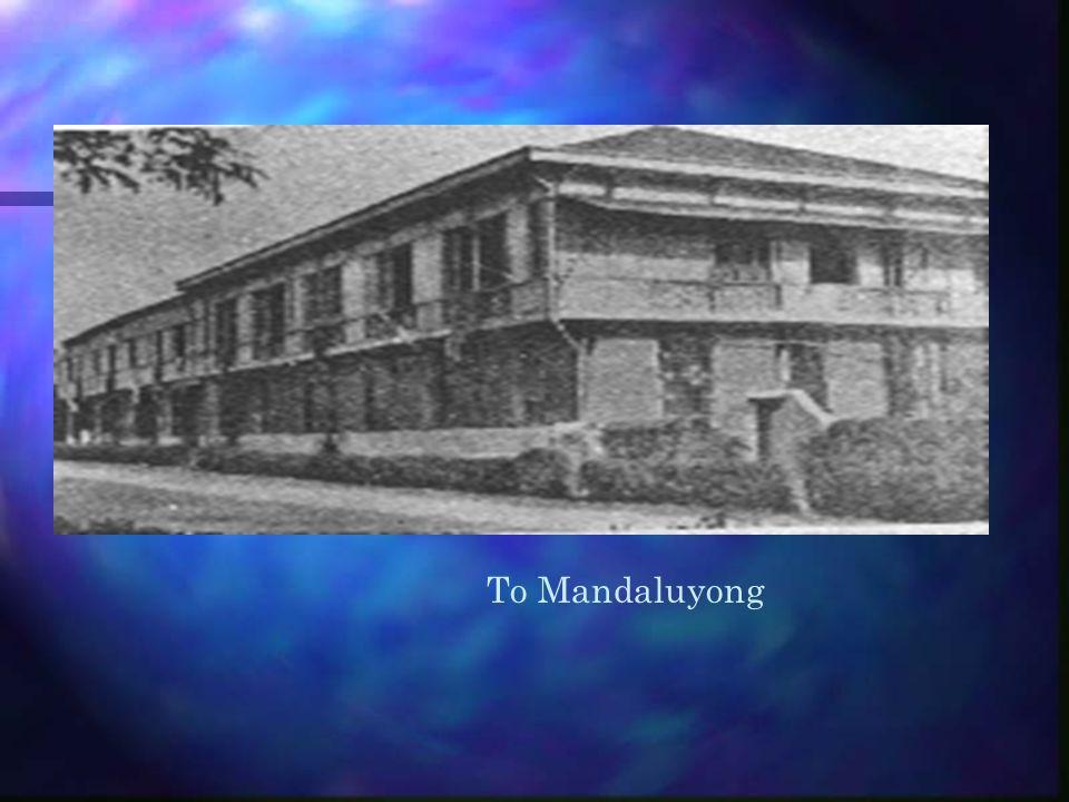 To Mandaluyong