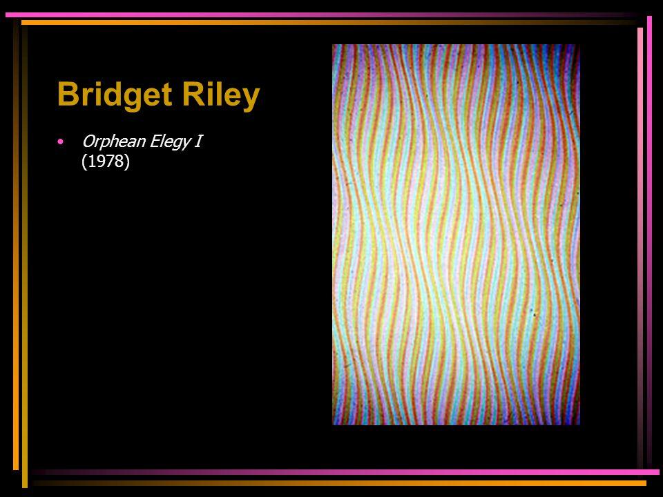 Bridget Riley Orphean Elegy I (1978)