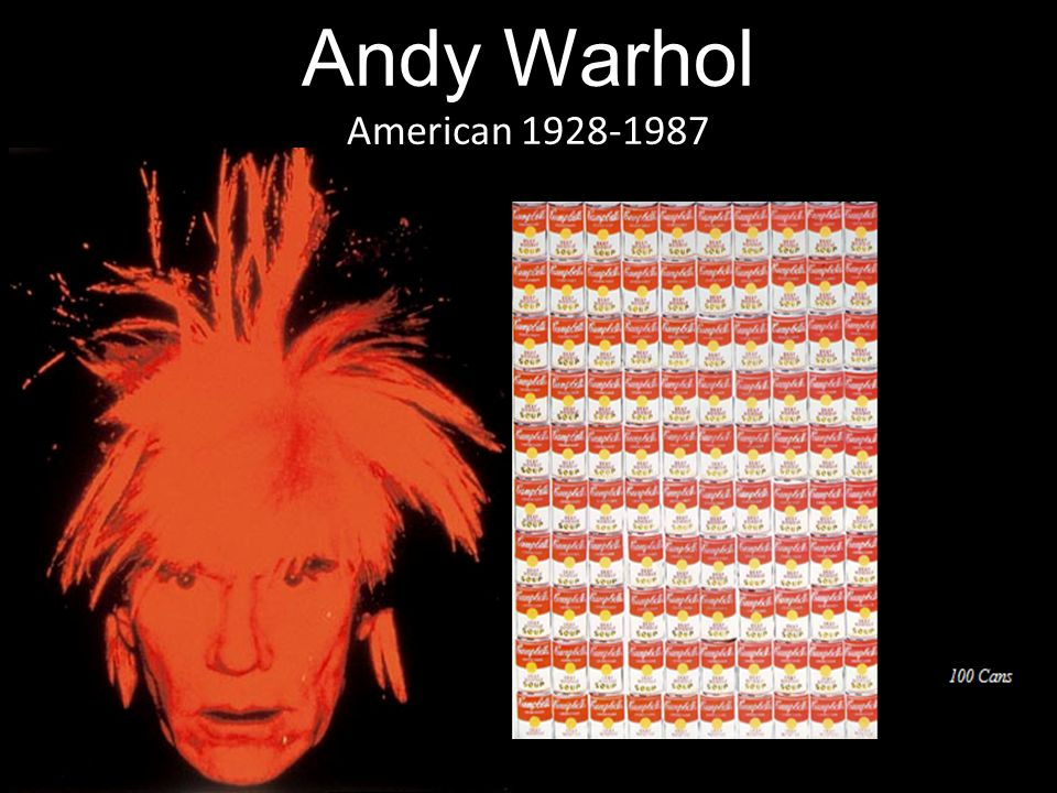 Andy Warhol American 1928-1987