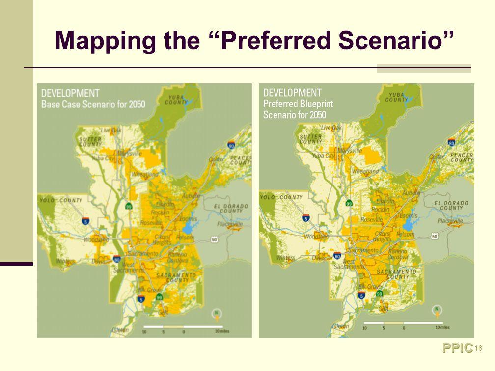 16 Mapping the Preferred Scenario