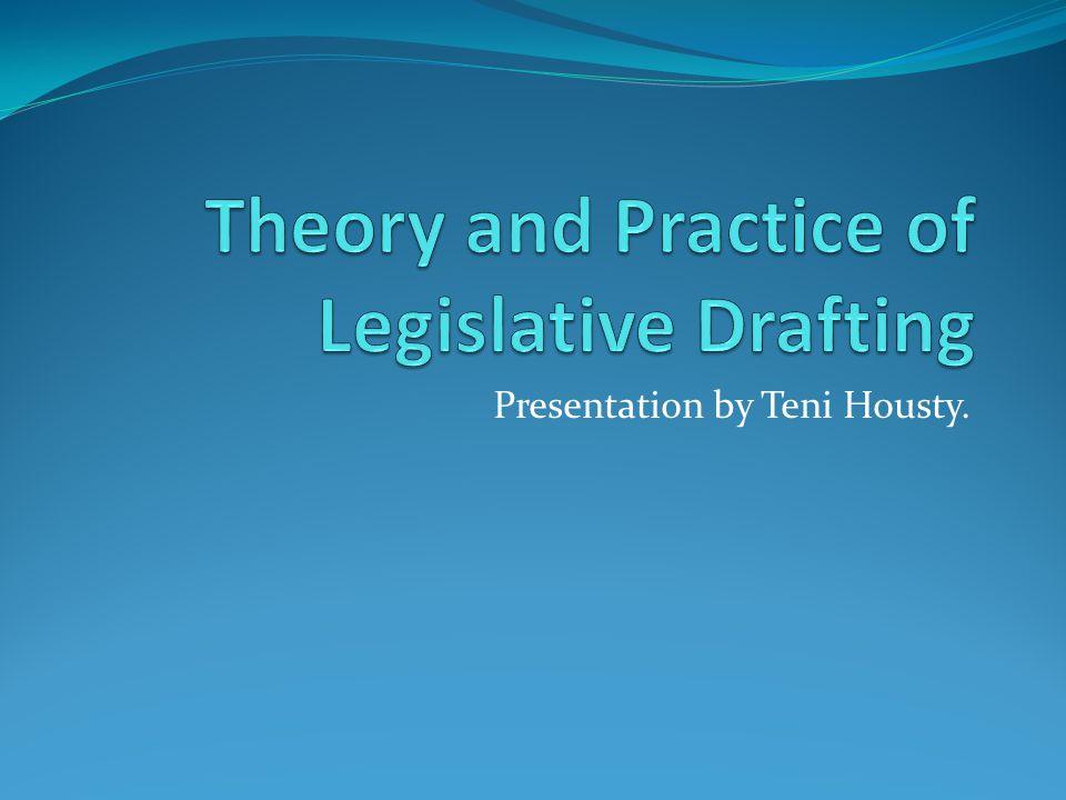 Presentation by Teni Housty.