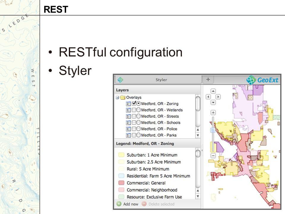 RESTful configuration Styler REST