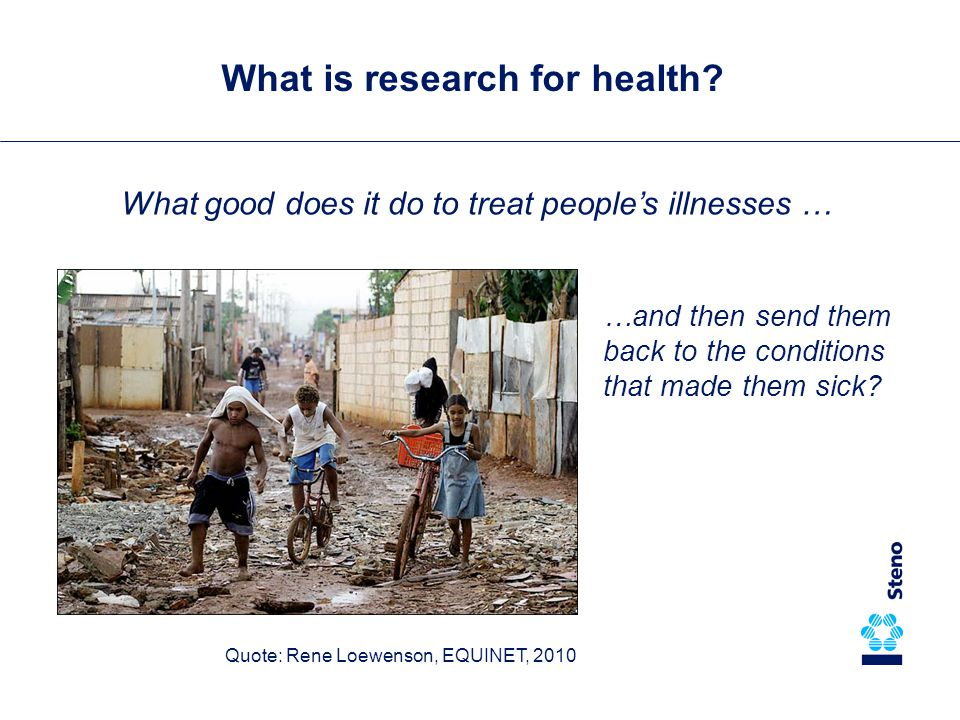 What is research for health.