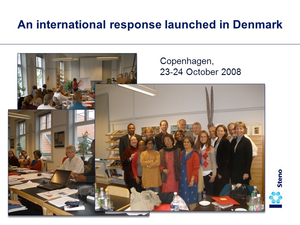 Copenhagen, 23-24 October 2008 An international response launched in Denmark