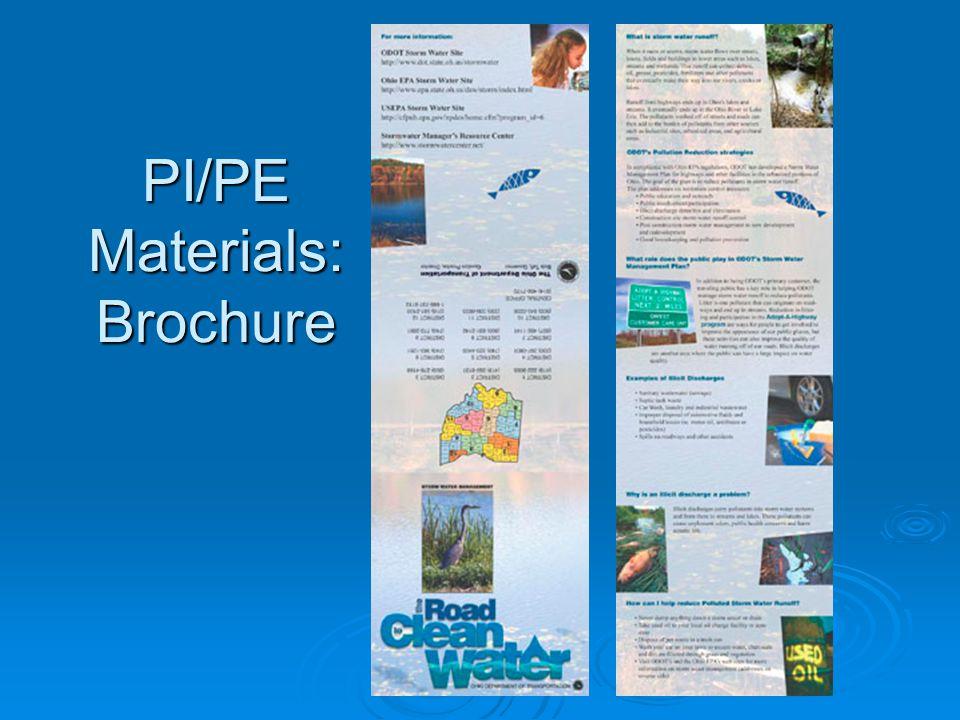 PI/PE Materials: Poster