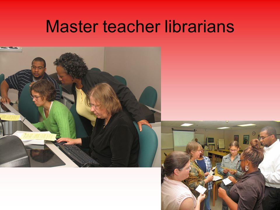 Master teacher librarians