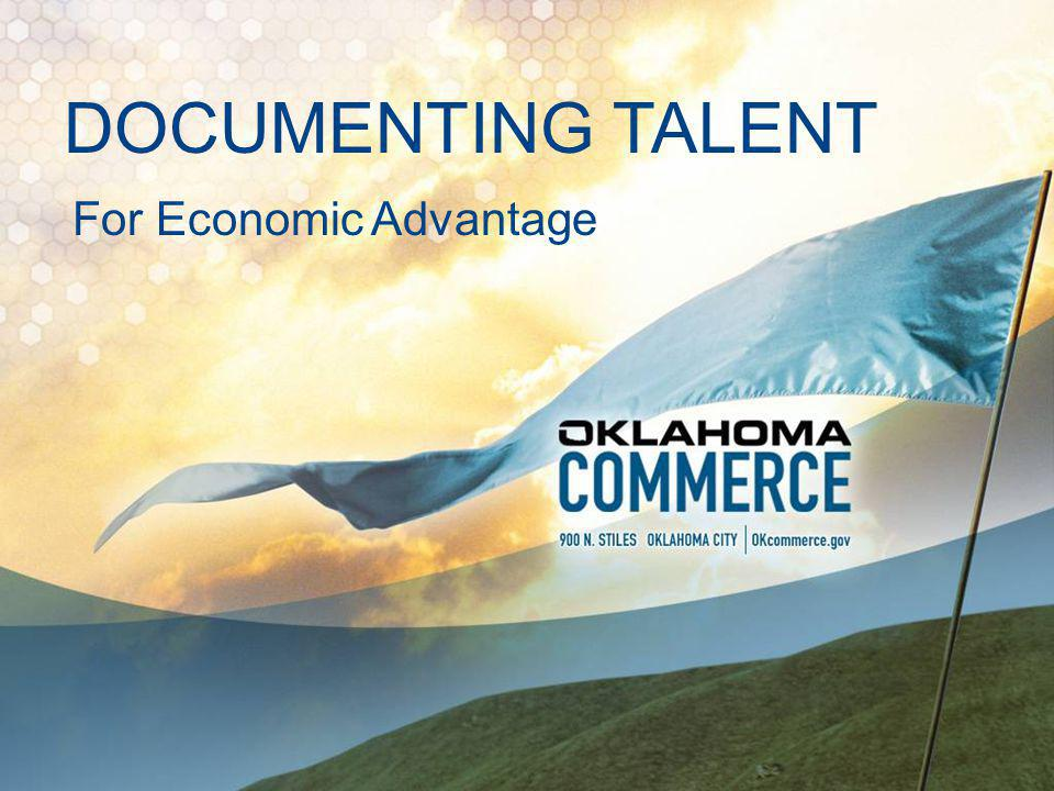 COMMERCE MISSION Increase the quantity and the quality of jobs in Oklahoma.