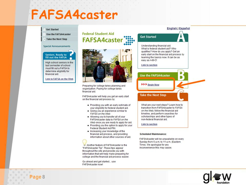 Page 8 FAFSA4caster