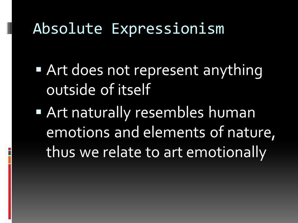 Formalism  The formalist appreciates art for its beauty, originality or impact on the senses  Video: What Is FormalismWhat Is Formalism