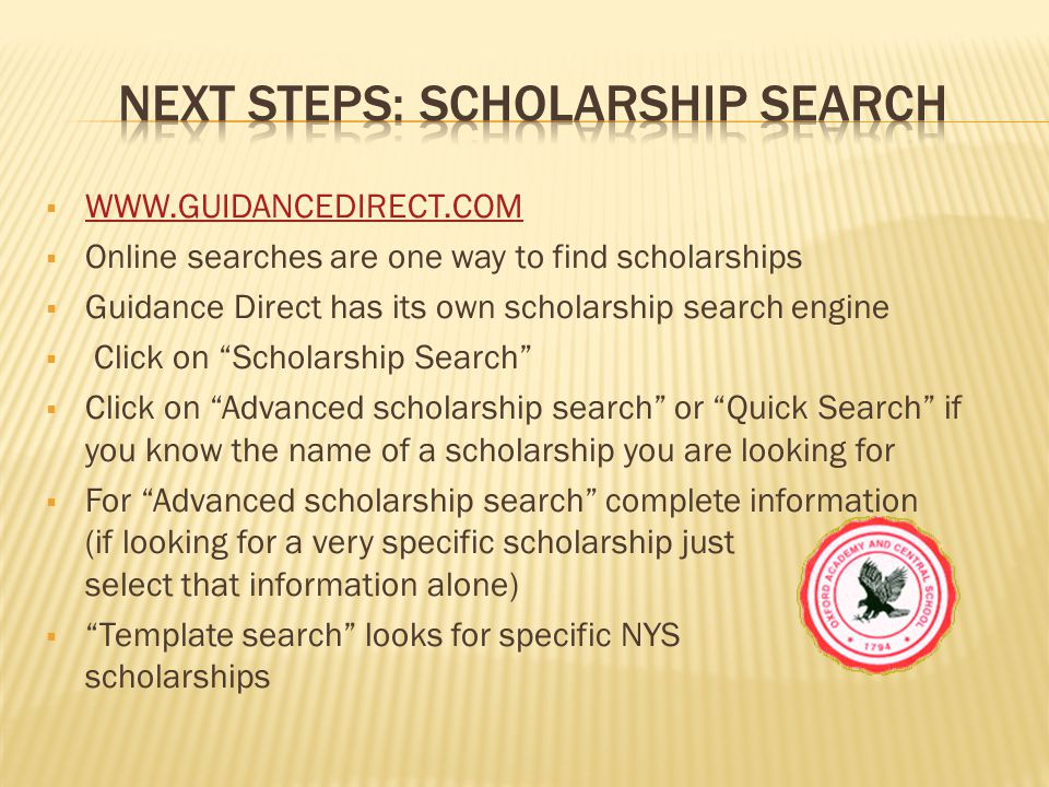  WWW.GUIDANCEDIRECT.COM WWW.GUIDANCEDIRECT.COM Results from: Previous interest profiler saved results and Previous career saved results and Previous colleges saved results and Previous scholarship saved results and Previously saved resume All become part of your career portfolio