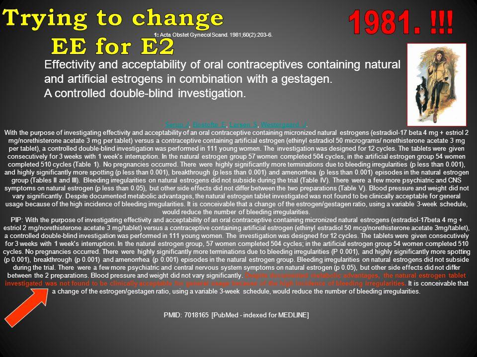 1: Acta Obstet Gynecol Scand. 1981;60(2):203-6.