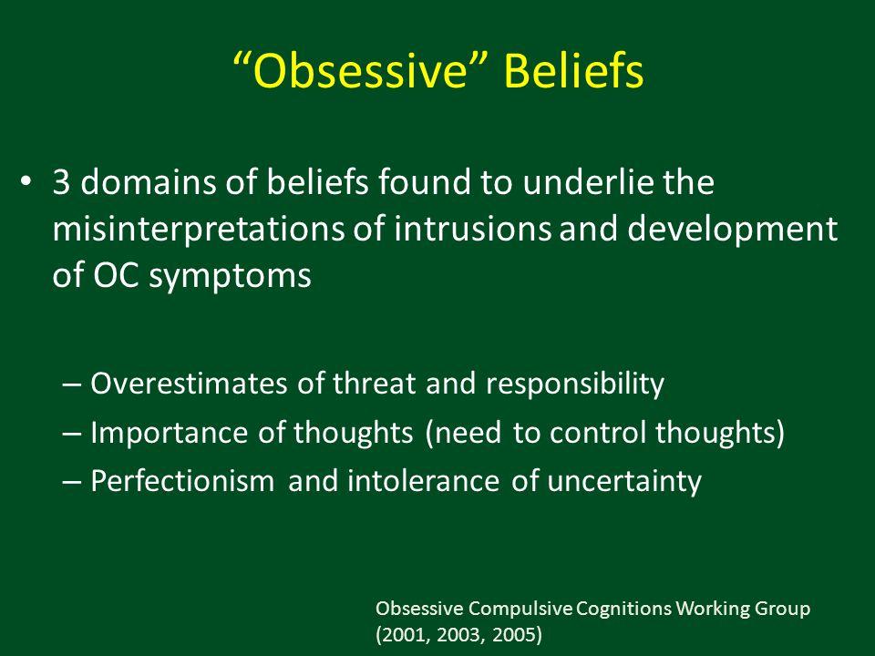 Relationship Between Obsessive Beliefs and OC Symptoms Abramowitz et al.