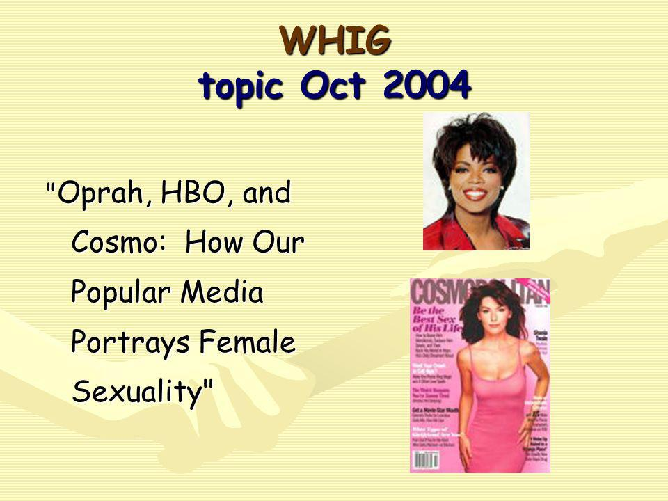 WHIG topic Oct 2004
